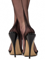 Premier Lingerie Fully Fashioned Point Heel & Seam Stockings ( NDFFP )